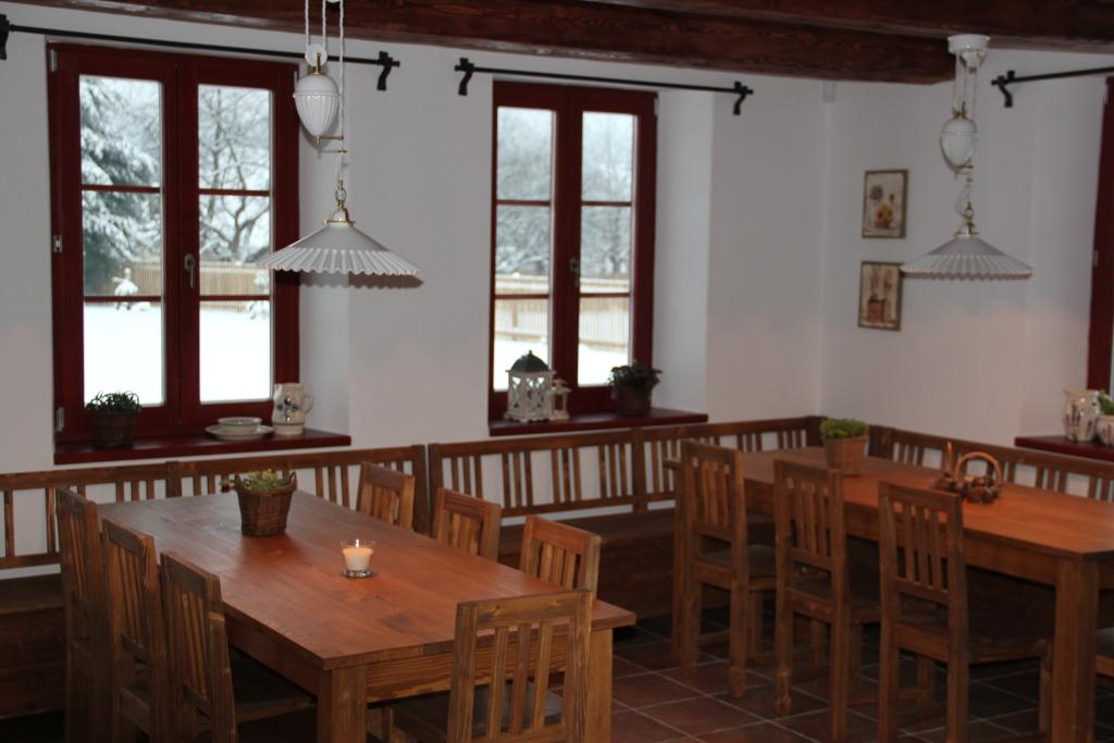 Dining room - two tables